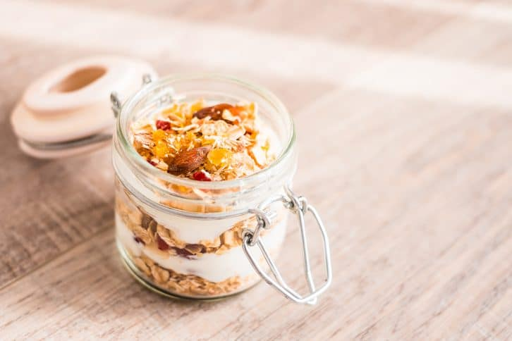 Bircher au muesli fruits & noix